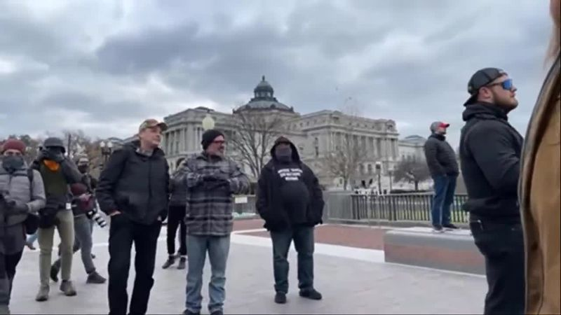 The Department of Justice released videos showing members of Proud Boys during the Capitol...