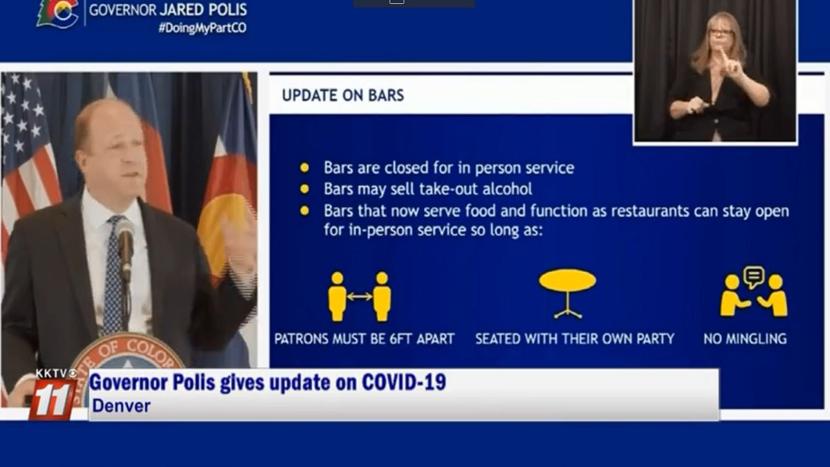6/30/20. Gov. Polis provides an update on COVID-19 response.