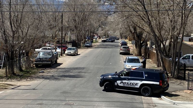 Colorado Springs Police are currently in the area of Sunflower Road, near North Cascade Avenue...