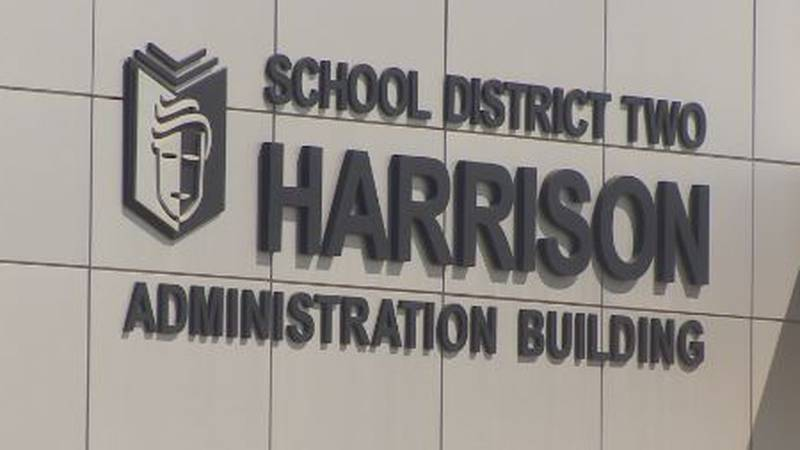 D2 Harrison's in administration building in Colorado Springs.