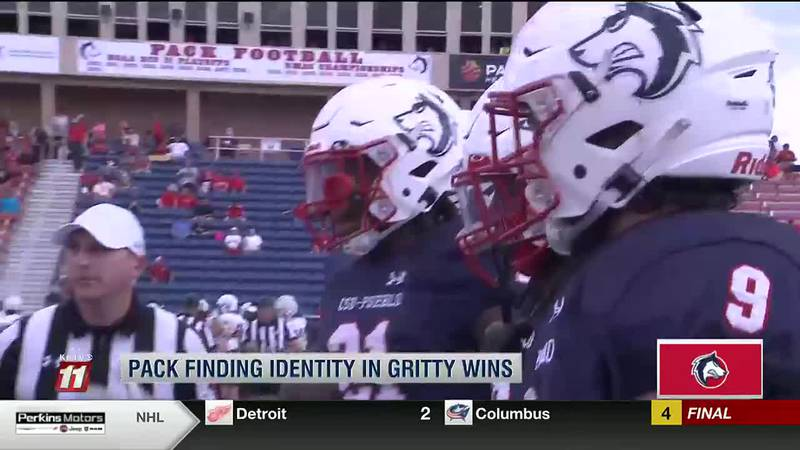 Pack football finds identity in gritty wins