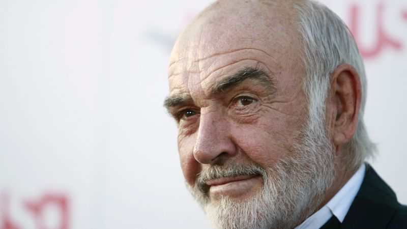Sean Connery arrives at the American Film Institute Life Achievement Award event honoring Al...