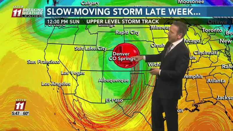 Warm for now - Big storm possible toward weekend