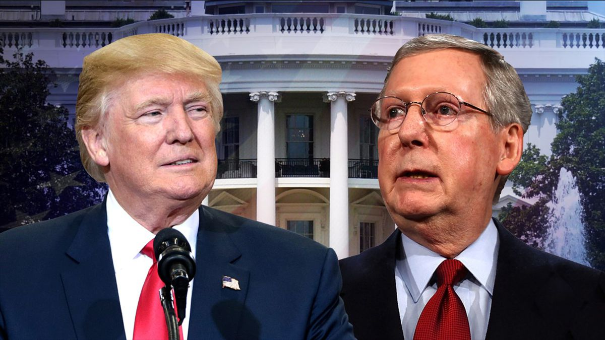 President Donald Trump is calling on the Senate to vote on his high court pick without delay, while Senate Majority Leader Mitch McConnell, reversing his position in 2016 when Justice Antonin Scalia died, has pledged to call a vote for whoever Trump chose.