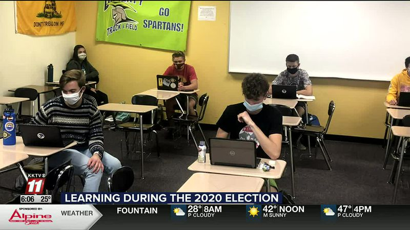 Doherty High School U.S. Government class focuses on election
