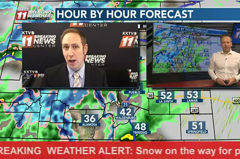 Breaking Weather Alert: Drastic change on Tuesday compared to Monday with snow in the forecast.