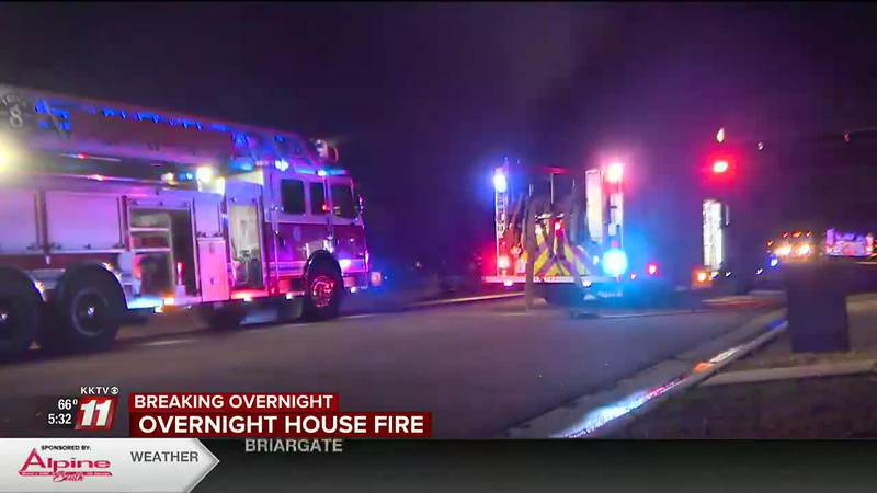 No one injured after garage fire northeast of downtown Colorado Springs