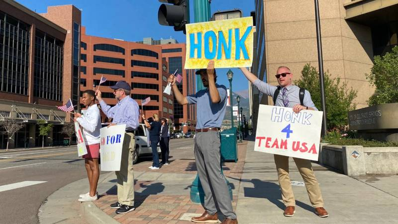 More than 20 different organizations will be participating in a community-wide Honk & Wave for...