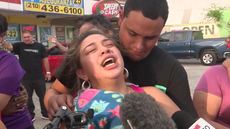 Kassandra Mendoza said she held her daughter in her arms as the little girl took her last...