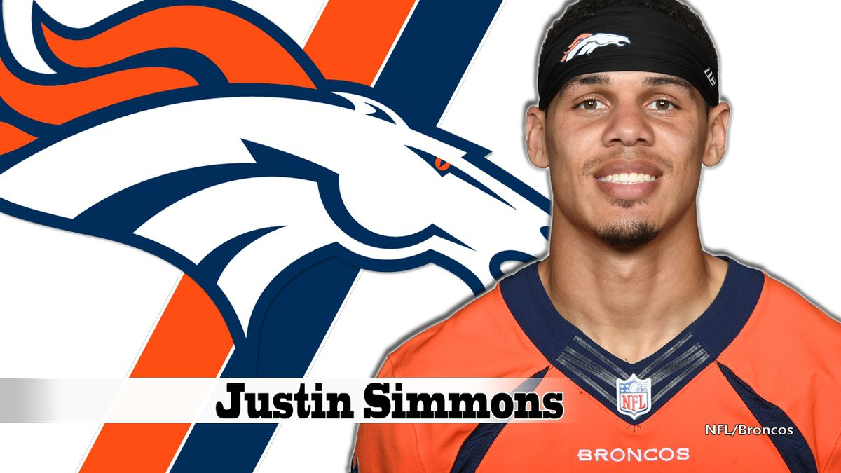 Broncos safety Justin Simmons