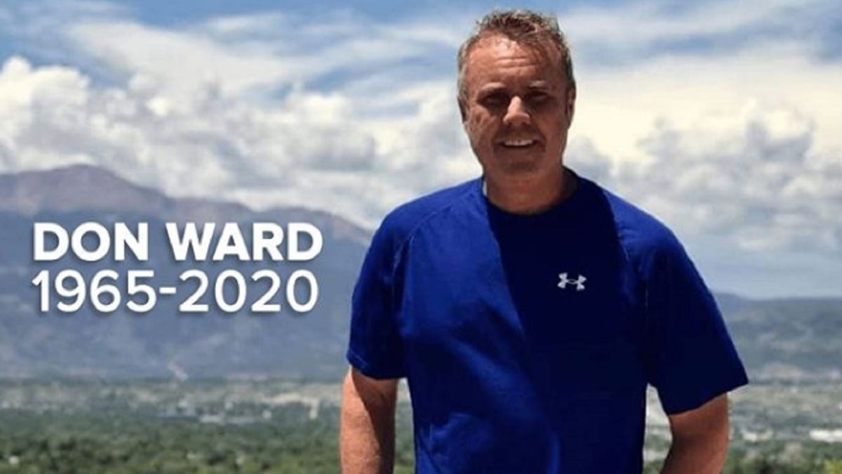 Don Ward unexpectedly passed on 8/24/20.
