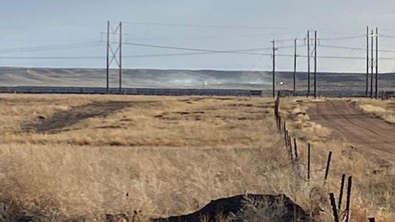 Grass fire reported near Pikes Peak International Raceway
