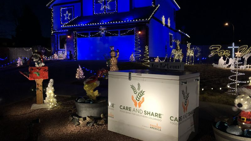 Mark Ingles' Care and Share fundraiser off Nugent Drive