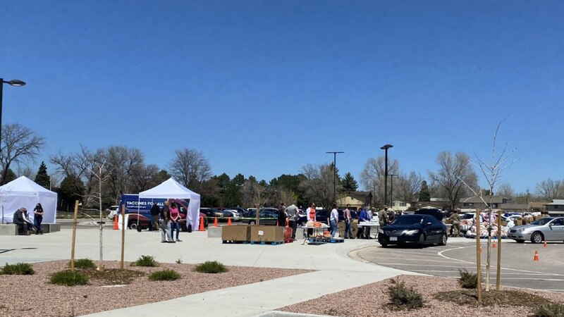 Pikes Peak United Way offers mobile vaccination clinic at Mitchell High School first Thursday...
