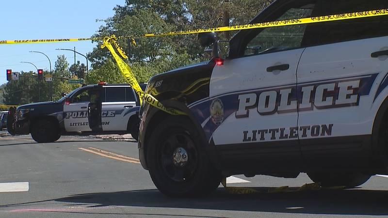 The crime scene in Littleton on Sept. 21, 2021.