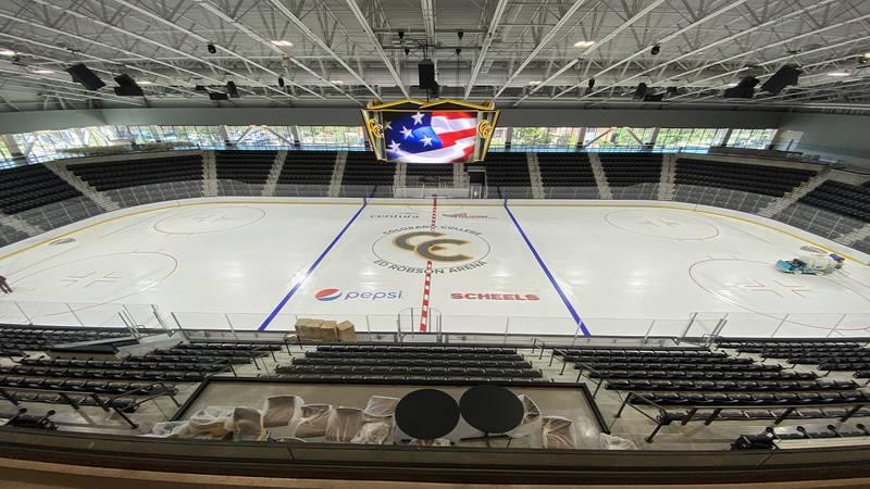 cc hockey ed robson arena