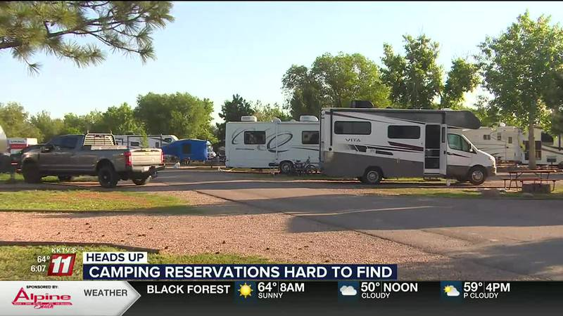 Southern Colorado campground expects camping reservations to be booked all year