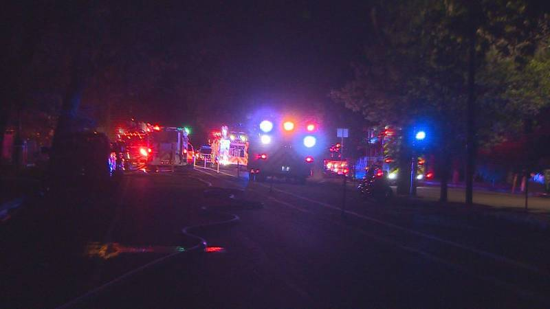 Quick-thinking neighbors helped save a Colorado Springs home from a backyard fire.