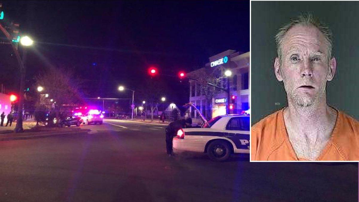 Rene Miller photo courtesy El Paso County Sheriff's Office.  Background photo from KKTV on...