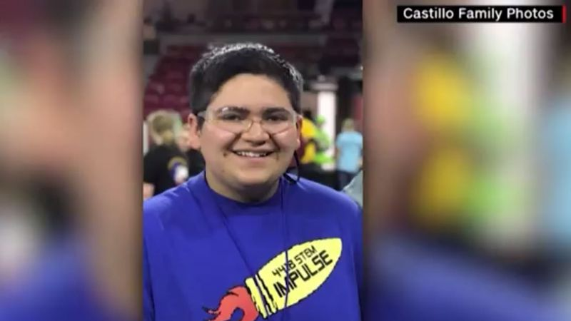 18-year-old Kendrick Castillo died in the shooting at STEM School Highlands Ranch in Colorado.