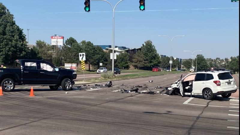 Serious crash in Colorado Springs 9/17/21.
