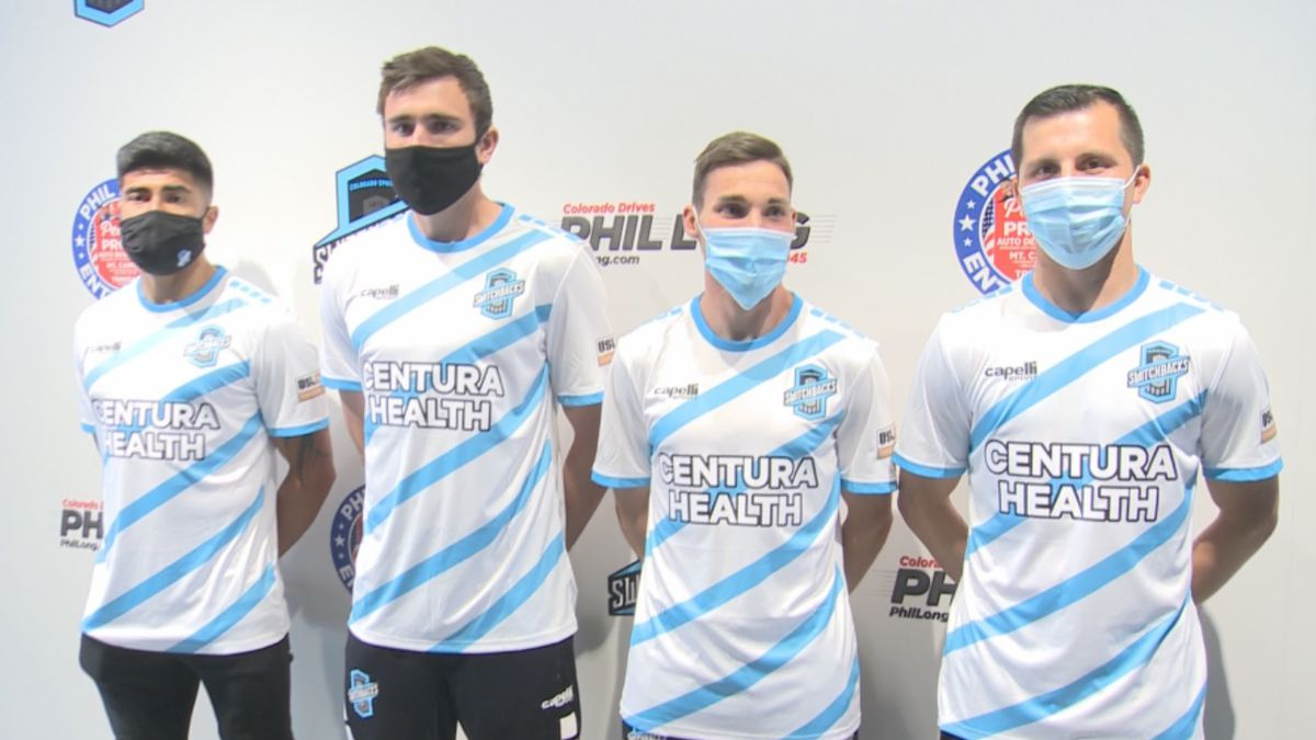 Colorado Springs Switchbacks FC reveals its new away jersey for the 2021 USL Championship season