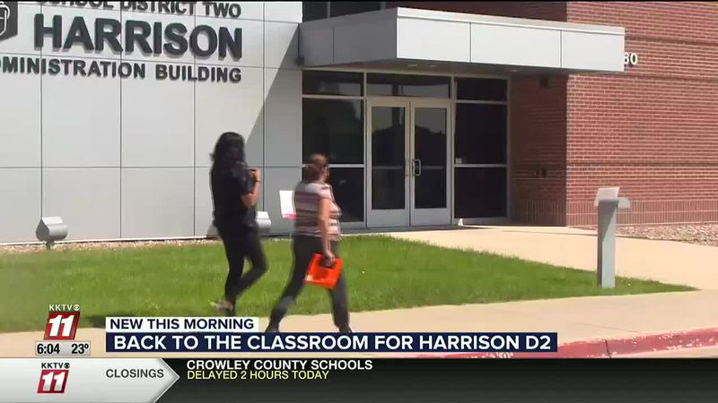 Harrison School District 2 returning to in person learning after holidays