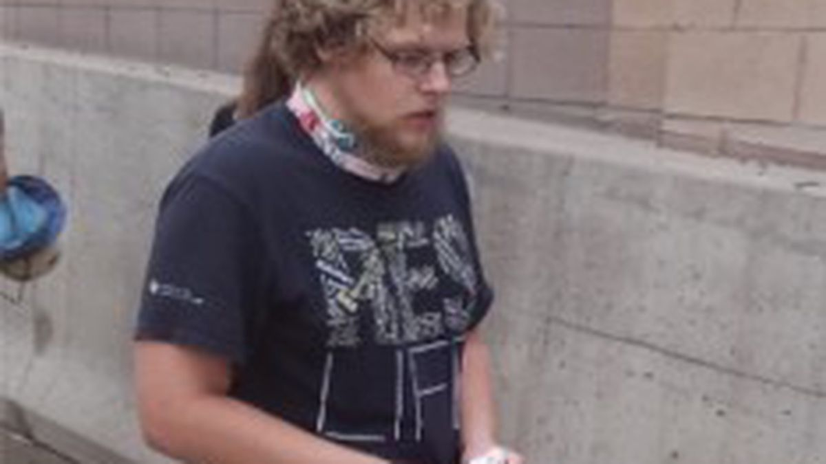 """APD was able to identify a """"person of interest"""" in a shooting during a protest along I-225."""
