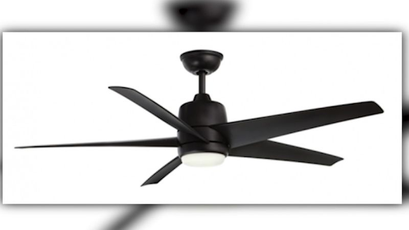 Some Home Depot ceiling fans are being recalled over blades that can detach, posing a potential...