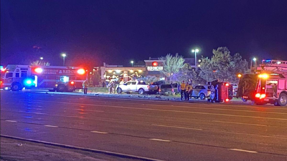 Crash on Powers Boulevard 5/12/21.