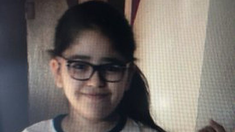 Police looking for missing child.