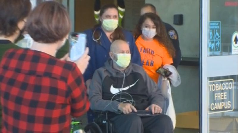 Colorado Springs man overcomes two heart attacks while battling COVID-19.