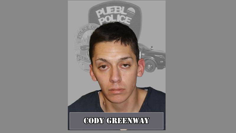 Arrest photo for Cody Greenway