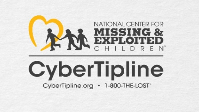 1-800-THE-LOST if you suspect a child is being sexually exploited online.