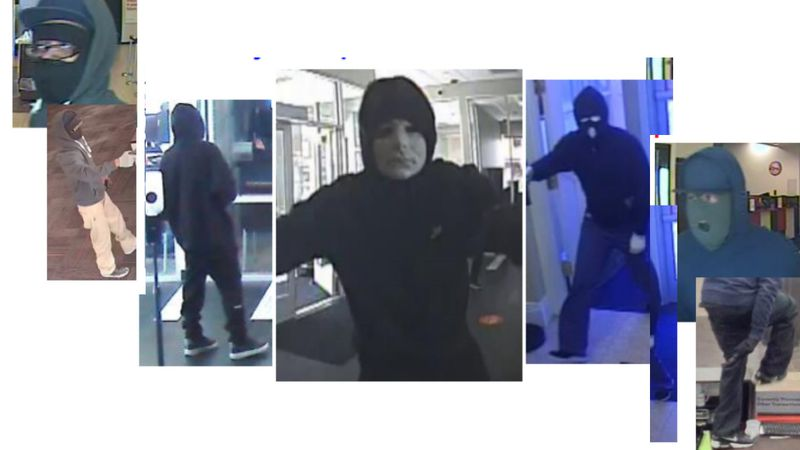 The FBI and several Denver metro area police departments need help identifying three...