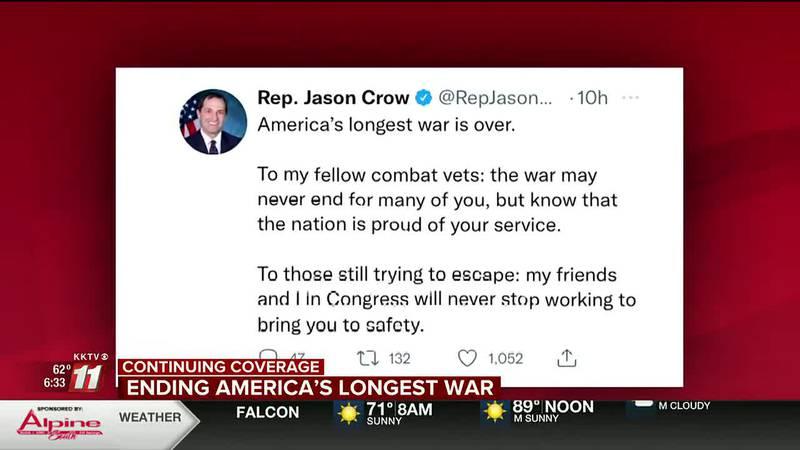 Statements from Colorado Representatives Jason Crow and Doug Lamborn
