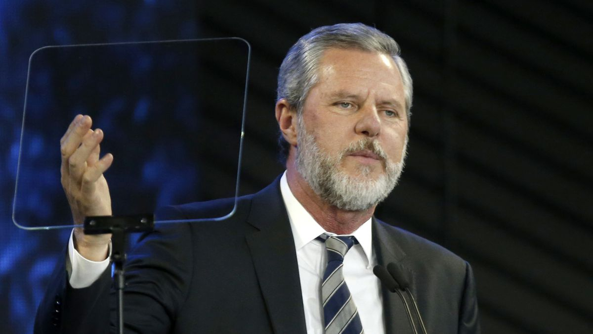 Jerry Falwell Jr. taking an indefinite leave of absence as president and chancellor of Liberty University.