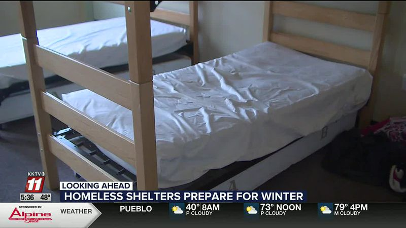 Homeless shelters prep for crowded winter amid pandemic