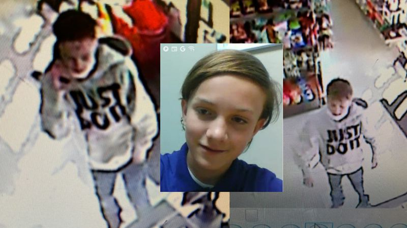 14-year-old Joseph Pickering was reportedly last seen on on camera at the 7-11 on Mesa Ridge...