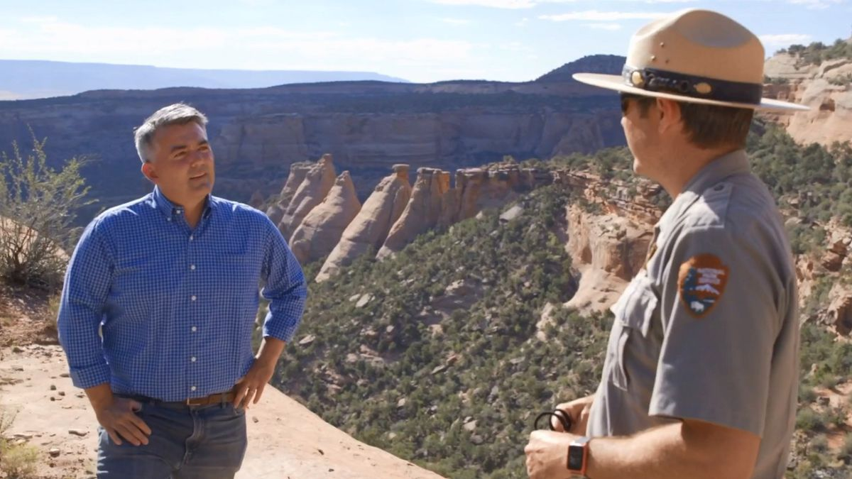 U.S. Sen. Cory Gardner was one of the lawmakers to introduce the Great American Outdoors Act.  Photo courtesy Sen. Gardner's office.