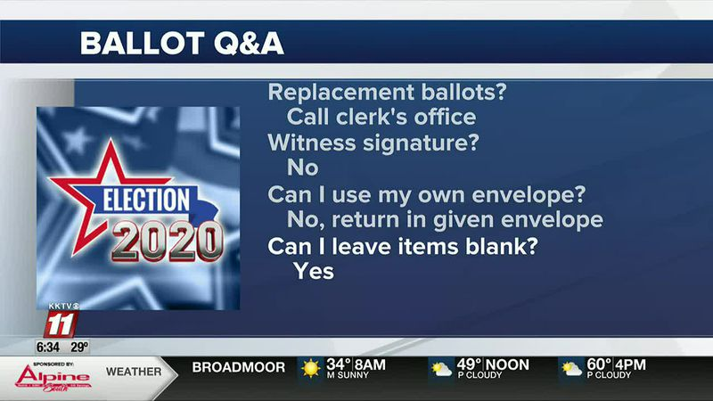 Common Ballot Questions, Answered