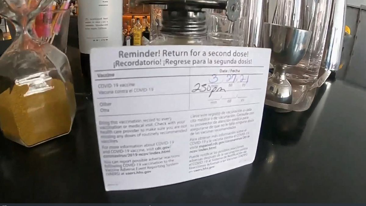 A Denver bar is requiring proof of vaccination.