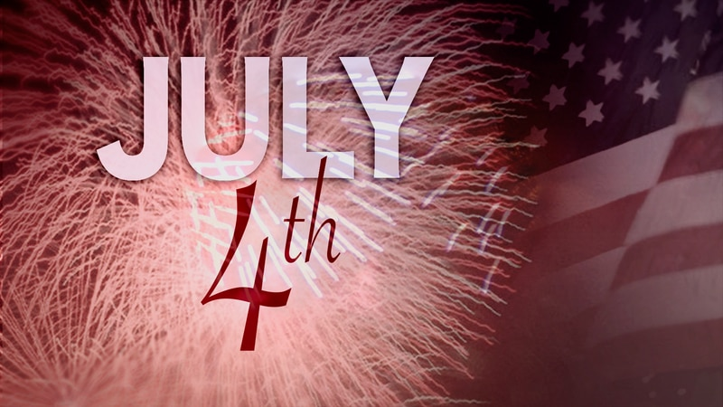 Fireworks are a Fourth of July tradition.