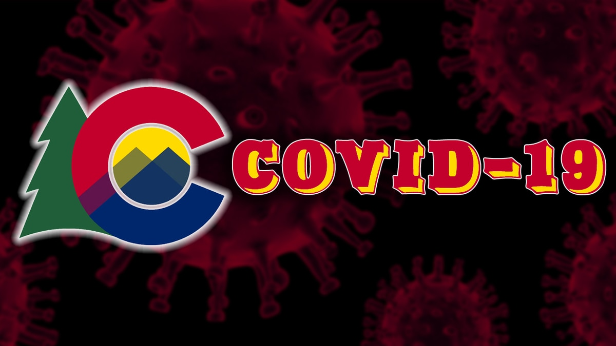 Colorado COVID-19 graphic