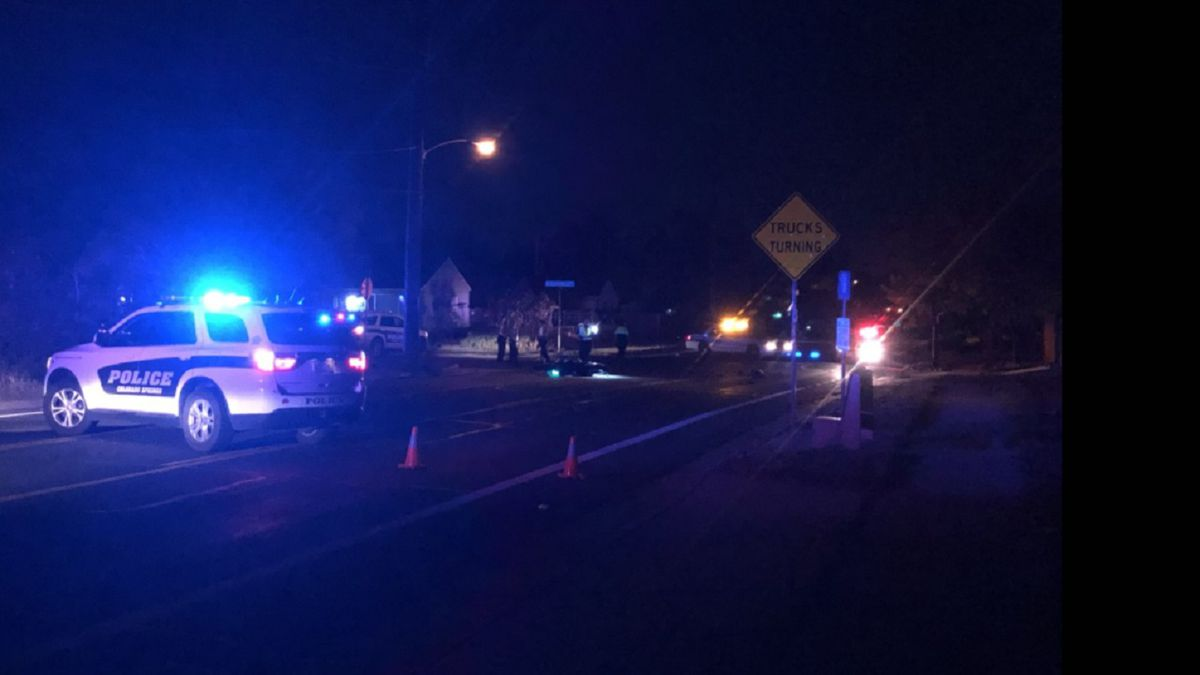 A crash involving a motorcyclist closed down Cheyenne Road in Colorado Springs on 9/21/20.