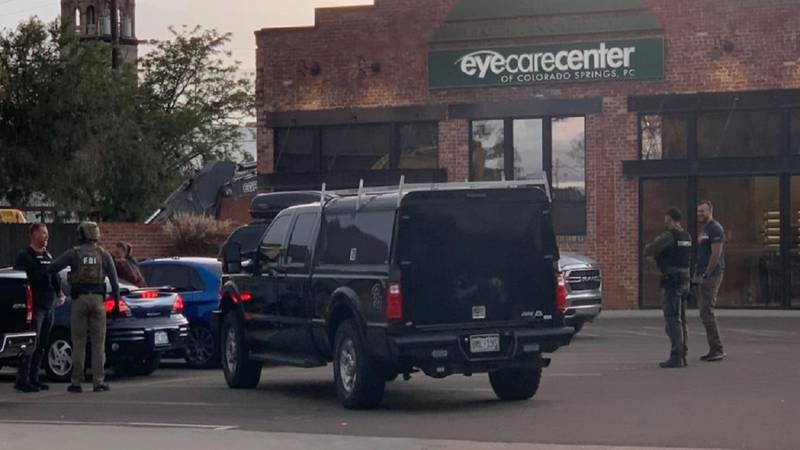 FBI activity in downtown Colorado Springs 10/12/21.