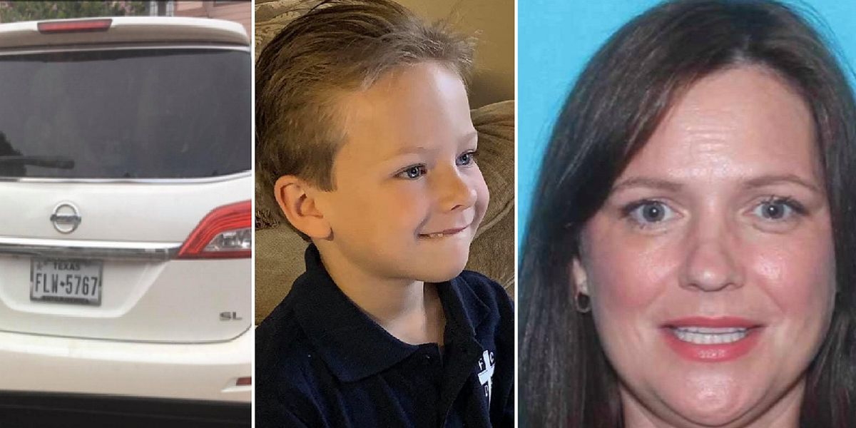 Police Texas Boy Subject Of Amber Alert Mother Found Dead