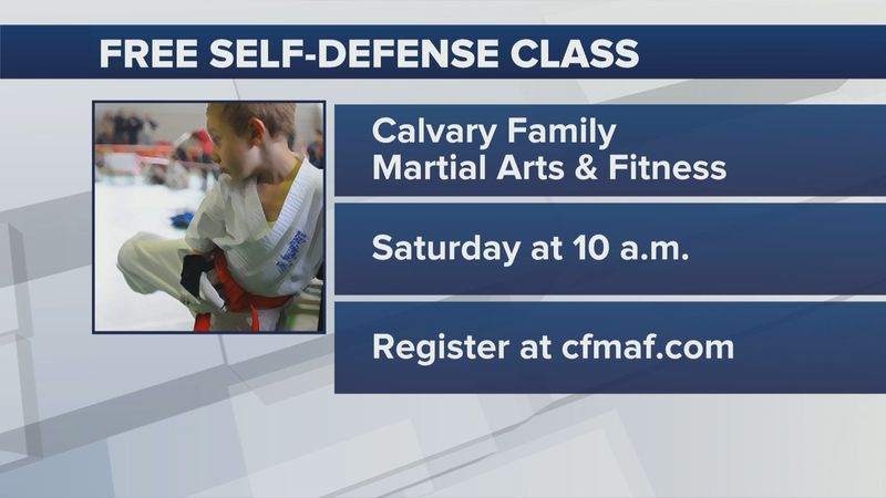 Information on the upcoming class Saturday, June 5, 2021.
