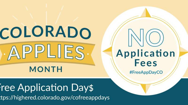 Colorado Free Application Days - Oct. 19-21, 2021
