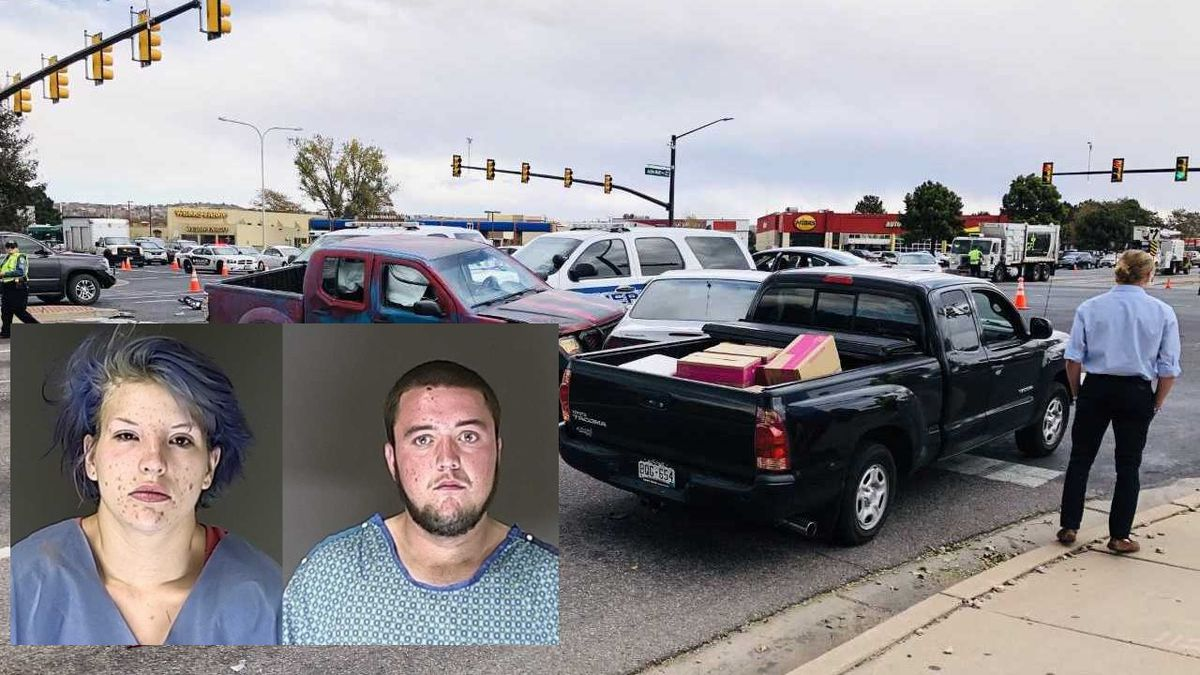 Police identified two suspects in the crash as Caleb Miles and Brooke Macklin.